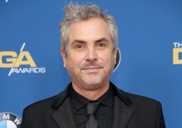 Director Alfonso Cuaron attends the 67th annual DGA Awards in Los Angeles, California February 7, 2015.