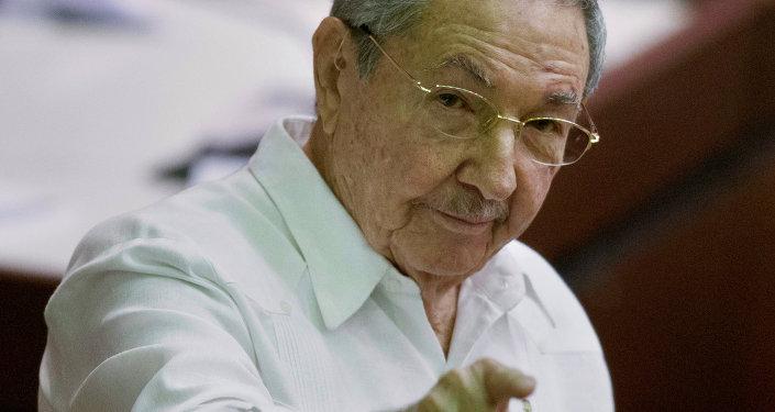 Llega Raúl a Antigua y Barbuda para cumbre Cuba-Caricom