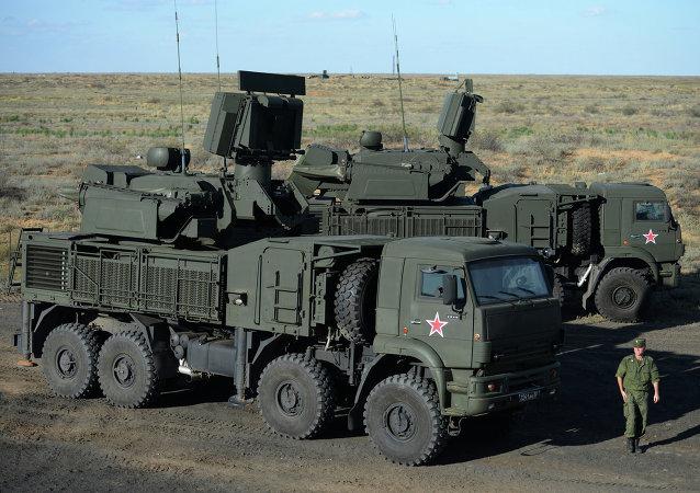 Sistema antiaéreo móvil Pantsir-S1