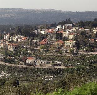 Colonia judía en Cisjordania