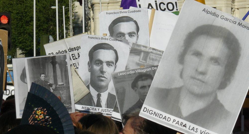 Las víctimas del franquismo pedirán amparo al Parlamento europeo