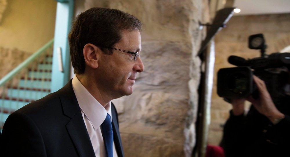 Isaac Herzog, líder del Partido Laborista y de la Unión Sionista