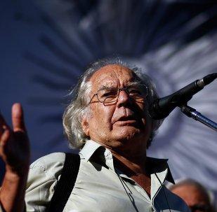 El argentino Adolfo Perez Esquivel, Premio Nobel de la Paz 1980
