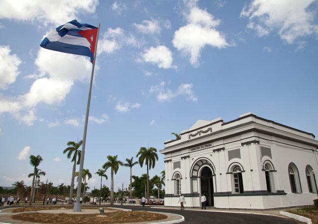 Cementerio Santa Ifigenia, panteón que guarda los restos de José Martí, héroe nacional de Cuba