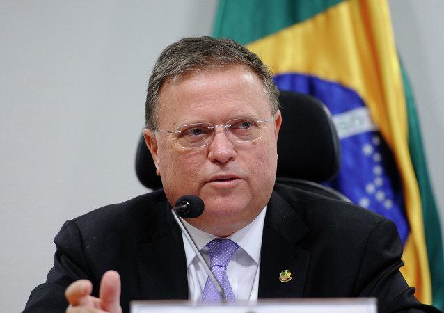 Blairo Maggi, ministro de Agricultura de Brasil