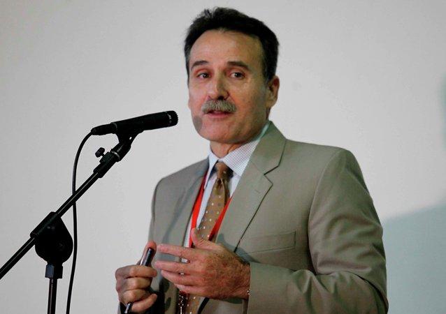 Vocero de la delegación caribeña, Gustavo Machín