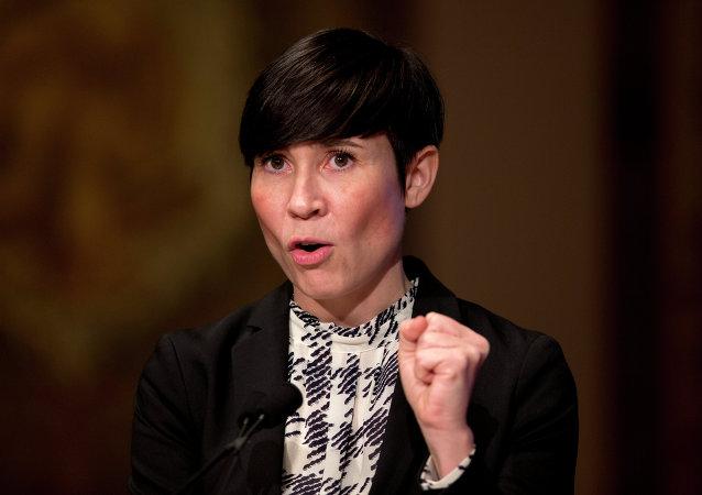Ine Eriksen Soreide, ministra de Defensa de Noruega