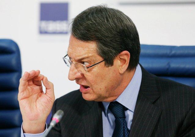 Nikos Anastasiadis, presidente chipriota