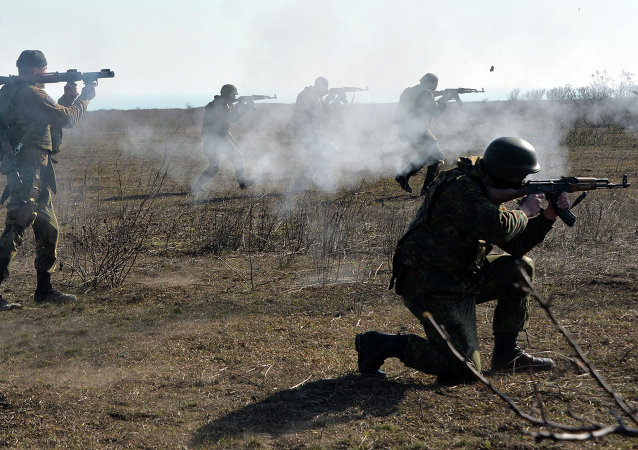 Batallón Azov en Mariúpol