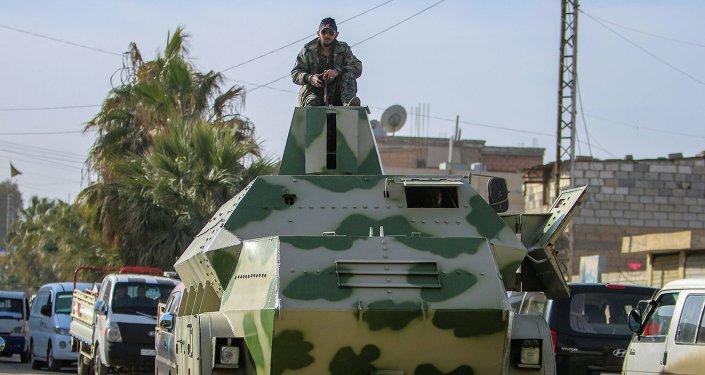 Combatiente de YPG