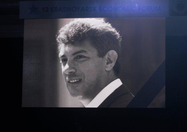 El político ruso Borís Nemtsov, asesinado en Moscú en febrero de año pasado