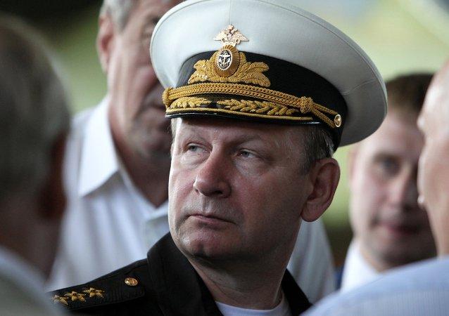 Víctor Chirkov, almirante, Comandante de la Armada de Rusia