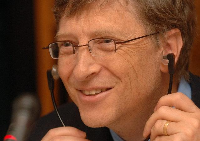 Bill Gates, fundador de la compañía Microsoft
