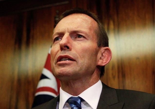 Tonny Abbott, primer ministro de Australia