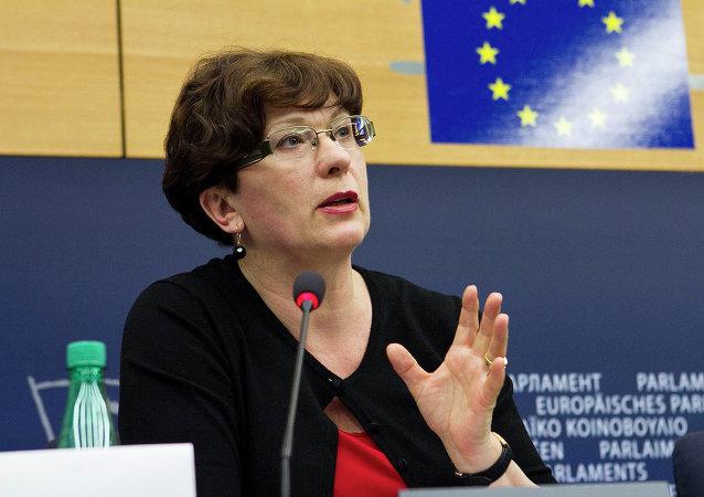 Sandra Kalniete, diputada letona del Parlamento Europeo (Archivo)