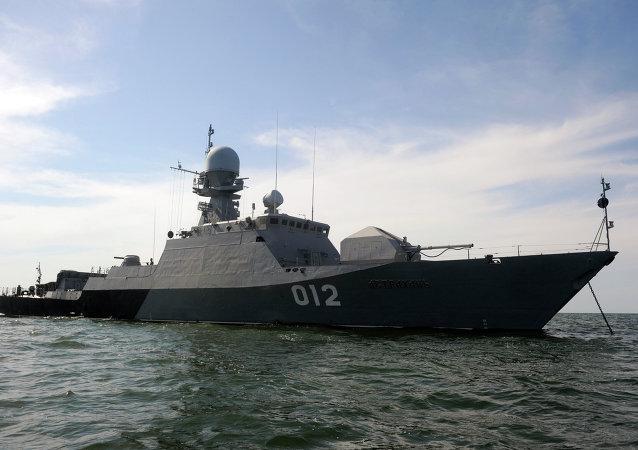 La flottille de la Caspienne