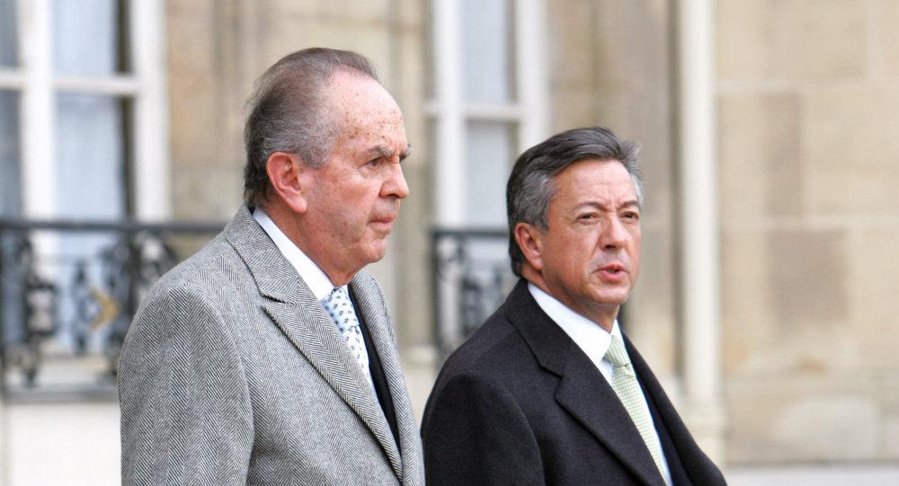 Alberto Bailleres Gonzales y Manuel Medina Mora