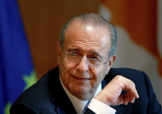 Ioannis Kasoulides, ministro de Asuntos Exteriores de Chipre