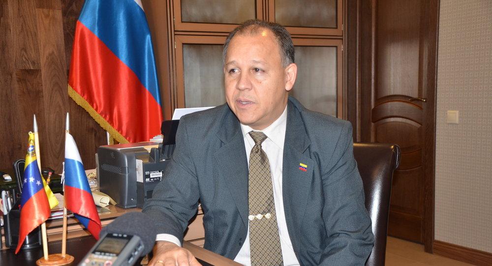 Juan Vicente Paredes Torrealba, embajador de la República Bolivariana de Venezuela ante la Federación de Rusia