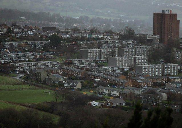 Vista general muestra parte del distrito electoral de Hallam del viceprimer ministro británico Nick Clegg en Sheffield