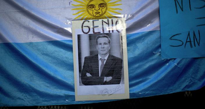 Retrato del fiscal Alberto Nisman
