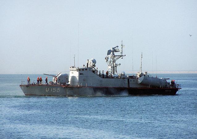 Lancha portamisiles Priluki de la Armada de Ucrania