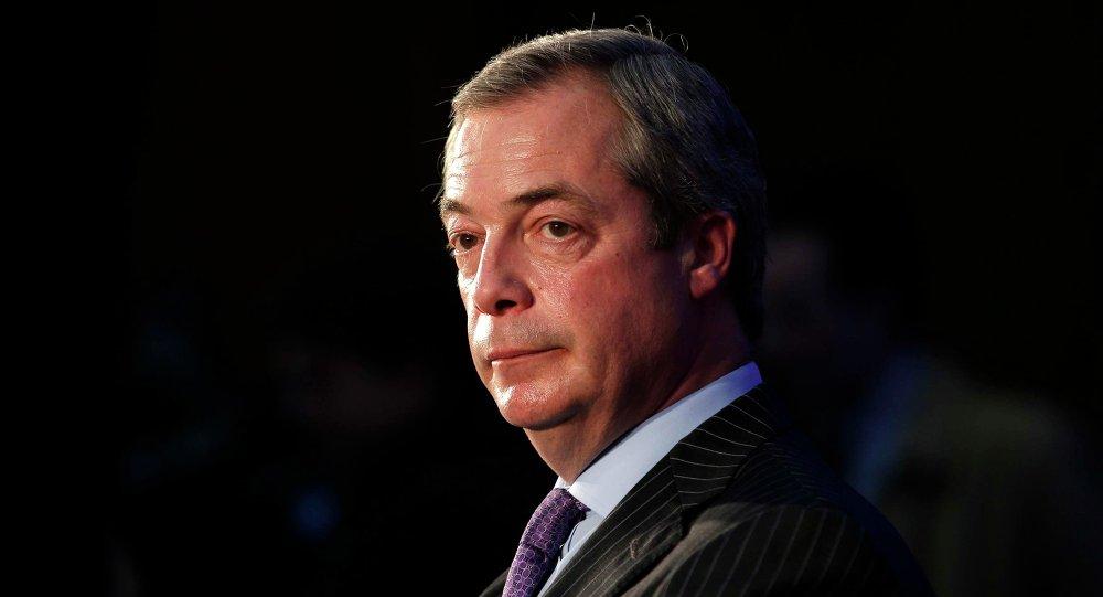 El exlíder del UKIP, Nigel Farage