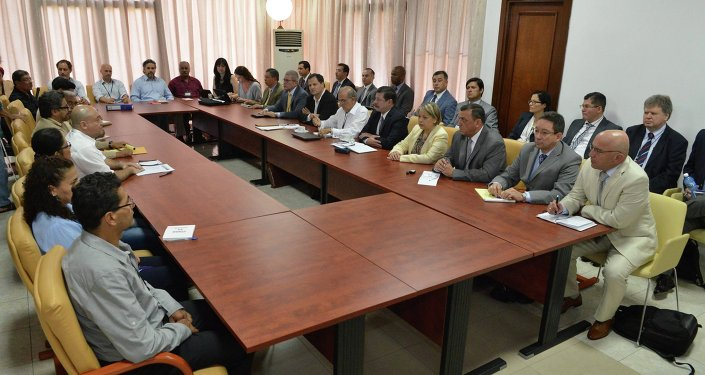 Negociaciones de paz entre representantes del Gobierno de Colombia y FARC en La Habana