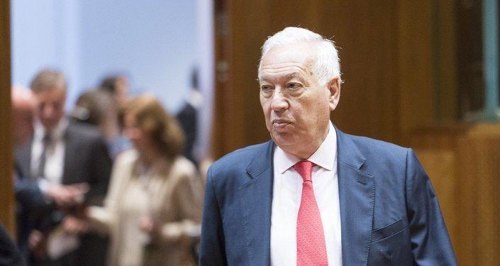 José Manuel García Margallo, canciller español