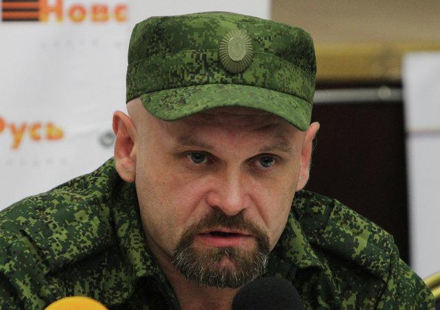 Alexei Mozgovoi, comandante de la brigada Prizrak