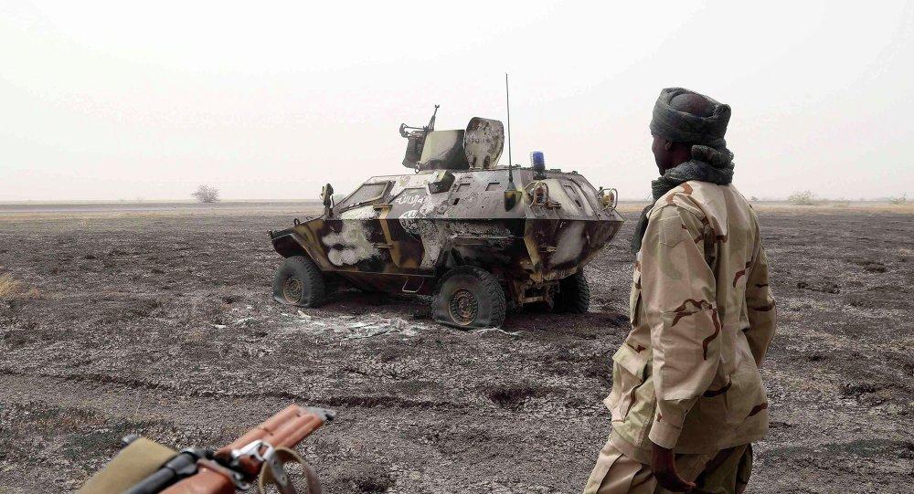 Soldado chadiano en Nigeria (archivo)