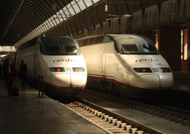 Trenes Renfe en España