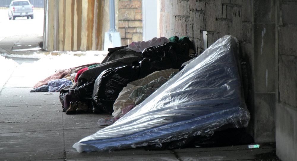 Campamento para personas sin hogar