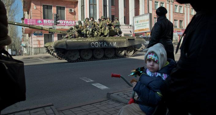Armisticio en Donbás