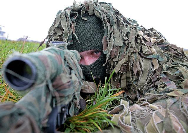 Soldado del Ejército ruso