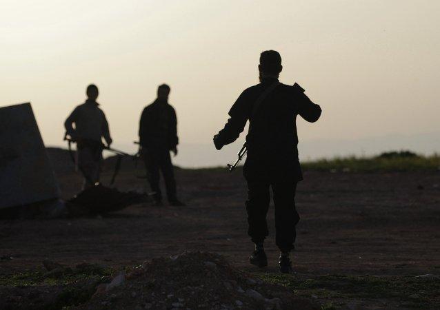 Soldados del Ejército Libre Sirio (archivo)