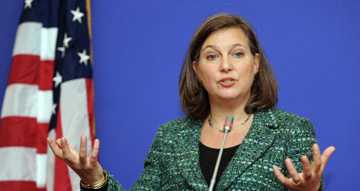 Victoria Nuland, subsecretaria de Estado para Europa y Eurasia de EEUU