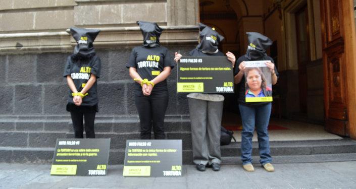 Активисты AI выступают против использования пыток в Мексике