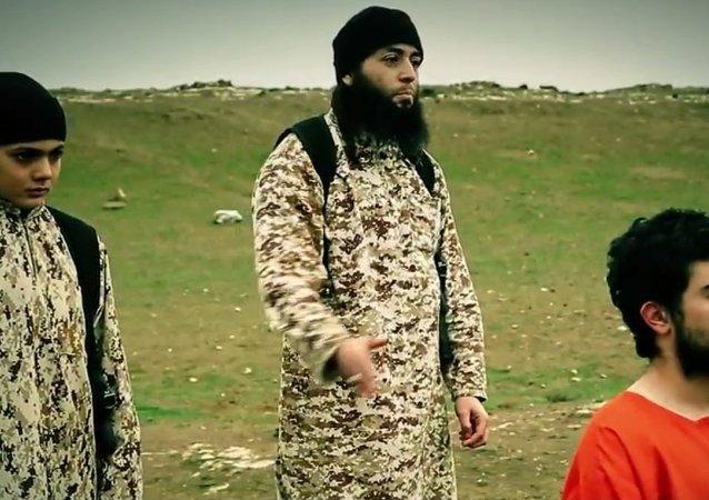 Captura de pantalla del vídeo de la ejecución de Muhamad Musallam
