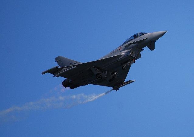 Caza Typhoon de la Fuerza Aérea de Italia