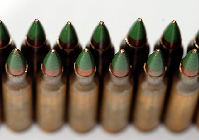 Balas perforadoras M855 green tip