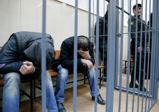 Los detenidos por la presunta implicación en el asesinato del opositor ruso Borís Nemtsov