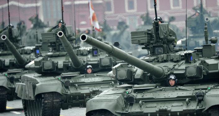 Tanques rusos Т-90