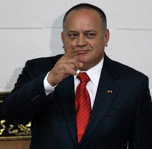 Diosdado Cabello, presidente de la Asamblea Nacional de Venezuela (archivo)