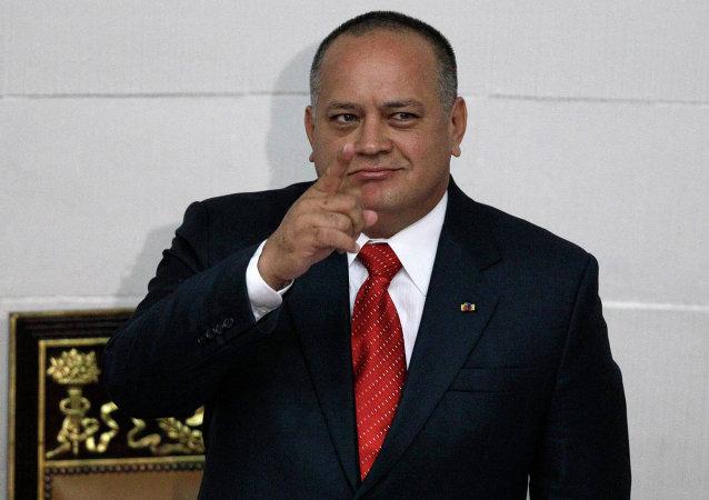 Diosdado Cabello, el oficialista venezolano