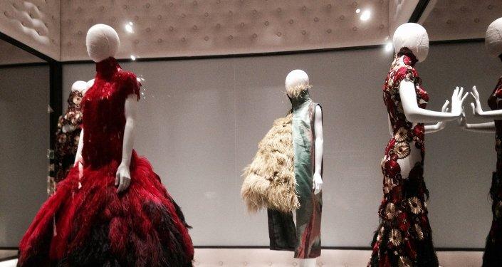 Сolección de ropa en exposición  'Belleza Salvaje'