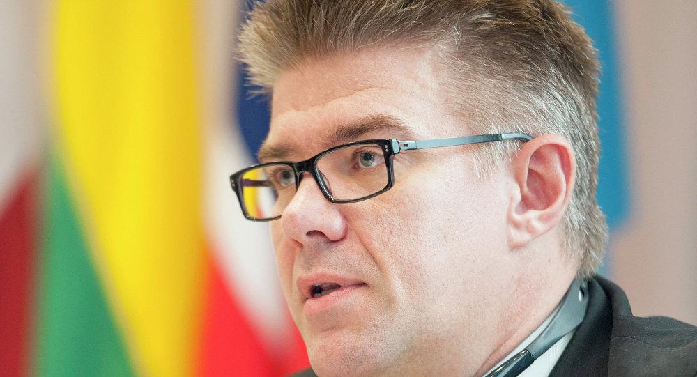 Gunnar Bragi Sveinsson, ministro de Exteriores del país nórdico