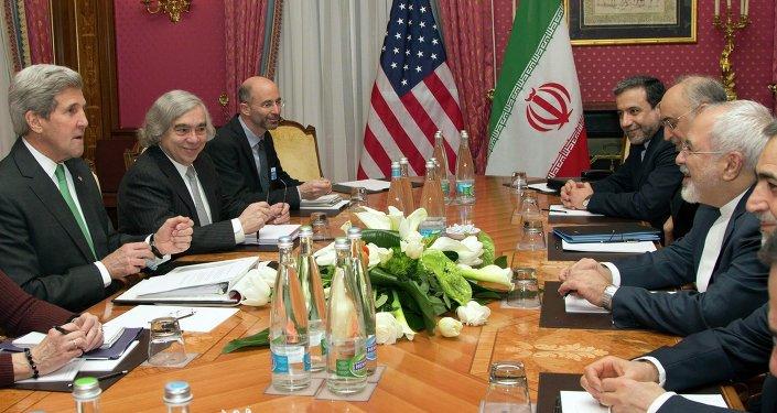 Las negociaciones sobre el acuerdo nuclear con Irán (archivo)