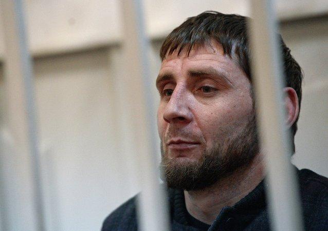 Zaur Dadáev, el checheno detenido por el asesinato de Boris Nemtsov