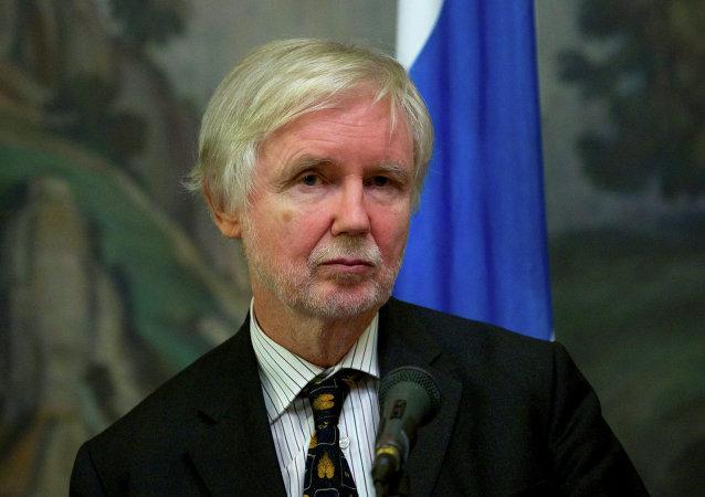 Erkki Tuomioja, ministro de Asuntos Exteriores de Finlandia